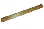 Линейка деревянная,  SPONSOR, 25 см., со штрих-кодом, SPONSOR оптом