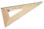 Треугольник деревянный 30*, 16см оптом