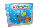 1toy новорожд. Буль-Буль наб. игр. для ванны от 3 мес. : игр. наб. краб-сетка+3игр. (черепаха, звездочка, краб), закр. кор. оптом