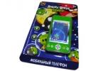 1toy Angry Birds моб. тел. типа айфон, стилус, звук 13, 5х22 см, блистер оптом