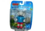 1toy Бабар фигурка слон-Баду 8см, подвиж руки, блист оптом