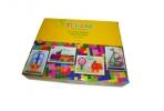 Мозаика пластиковая «Multiform», 265 предметов: 8 шаблонов, 255 округлых деталей мозаики разного размера, шнурки, корзина для хранения, игровое поле оптом