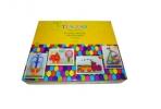 Мозаика пластиковая «Multiform», 310 предметов: 8 шаблонов, 300 округлых деталей мозаики, шнурки, корзина для хранения, игровое поле оптом