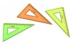 Треугольник 10см 30* NEON ассорти (100шт в упаковке) СТАММ ТК230 оптом