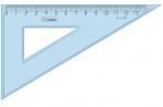 Треугольник 30°, 13см Стамм, прозрачный голубой оптом