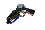 Пистолет Космический бластер свет. звук. 21, 5х16х4см пакет с хед. оптом